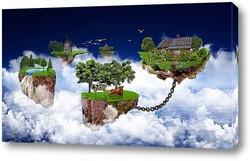 Картина Полет земли