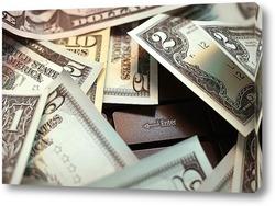 Картина Американские доллары