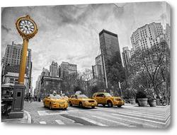 Картина Taxi. New York