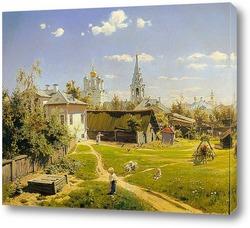 Картина Московский дворик
