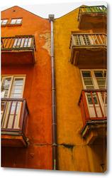 Картина Варшавский домик