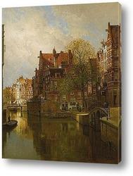 Вид на Амстердам