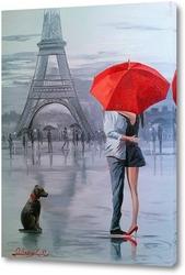Картина Париж для двоих