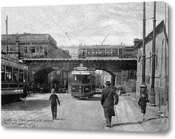Картина Польский спуск и Строгановский мост 1913  –  1915 ,  Украина,  Одесская область,  Одесса