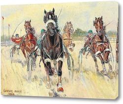 Картина Рысистые гонки в Крио
