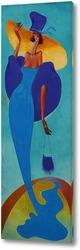 Картина Голубое видение