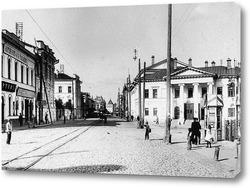 Картина Дворянское собрание. Угол Большой Покровской и Дворянской 1904  –  1917