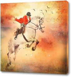 Картина Верховная езда