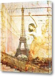 Картина Балерина в Париже
