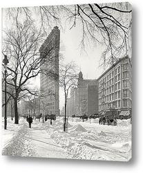 Морозный Флашерон, Нью-Йорк, 1905