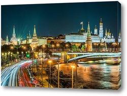 Москва вечерняя.
