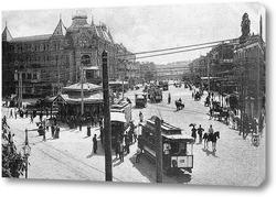 Картина Царская площадь 1898  –  1910