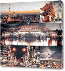 Картина Ночная Япония