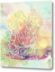 Картина Талисман слон