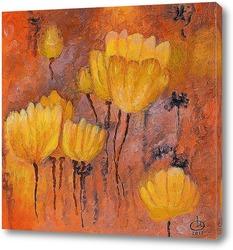 Картина Желтые тюльпаны