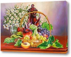 Про фрукты в корзинке