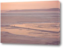Картина Замерзшее море в Амурском заливе. Владивосток