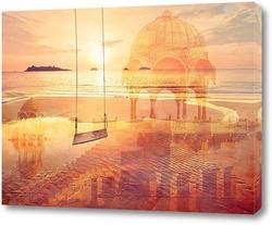 Картина Морской пляж
