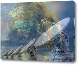 Картина Спутниковая антенна