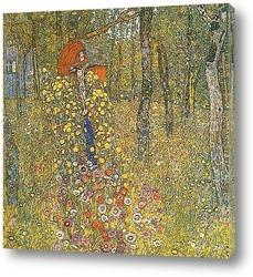 Картина Сад с распятием