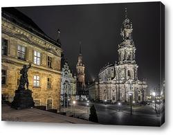 Картина Ночной Дрезден
