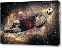 Картина Футболист