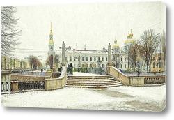 Санкт-Петербург. Красногвардейский мост.