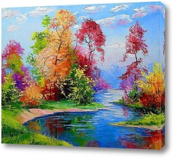 Картина Славная осень