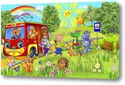 Картина Трамвайчик
