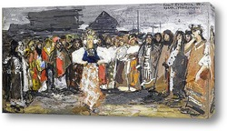 Праздничные деревенские танцы, Поморье