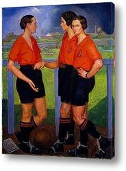 Картина Футболистки