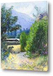 Холмы, поля и люцерны, Чили