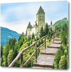 Картина  Вид на замок Моошем