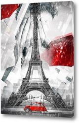 Картина Артпостер. Париж