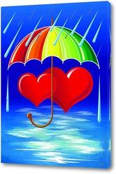 Картина Под зонтиком