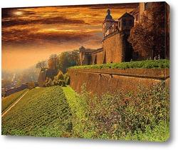 Замок в Баварии.