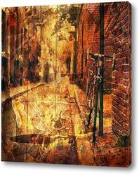 Картина Ретро коллаж