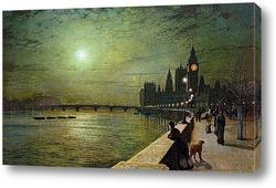 Размышления на берегу Темзы, Вестминстер