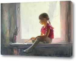 Картина Юная художница