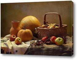 Яблоки и тыквы