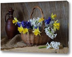 Картина С первоцветами