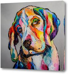 Картина Собака-философ