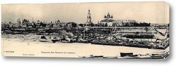 Картина Набережная реки Которосли в ледоход 1889  –  1891 ,  Россия,  Ярославская область,  Ярославль