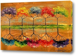 Каждое дерево пахнет по своему