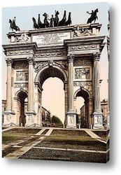 Картина Арка Мира, Милан, Италия