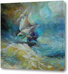 Морская фантазия. Летучий Голландец