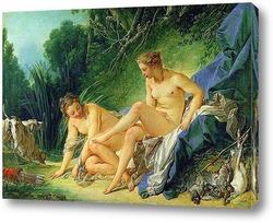 Диана отдыхает после ванны, 1742