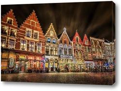 Картина Рождественский Брюгге