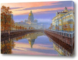 Картина Исакиевский собор