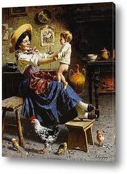 Картина Игра с ребенком